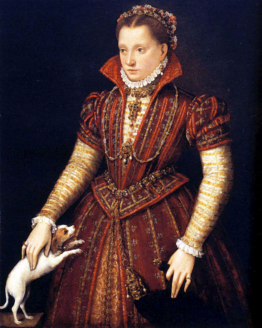 5 Lavinia Fontana (1552-1614)  Portrait of a Noblewoman