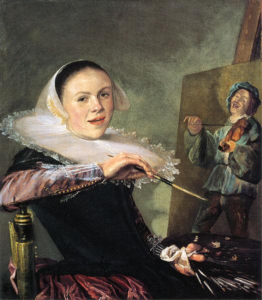 525px-Self-portrait_by_Judith_Leyster