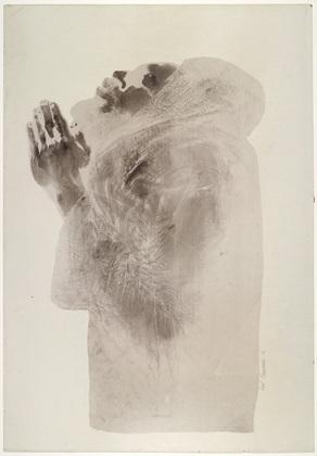 David Hammons, Untitled, 1969, 92 x 63 cm, New York, Moma.